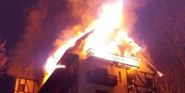 incendiu posada vidraru